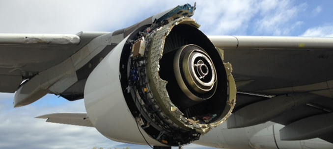 severe engine damage